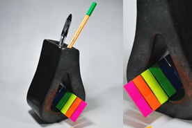 Long Pi Pear Drop Pen Stand