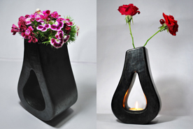 Long Pi Pear Drop Vase