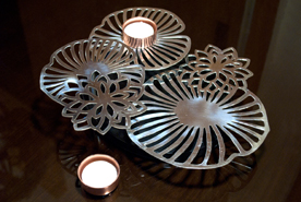 Multi Level Lotus flower T light