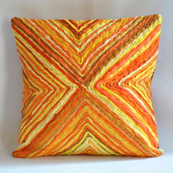 yellow sahil sarthak katran collection cushion cover