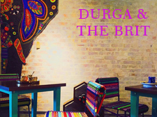 Durga & the Brit Designed by Sahil & Sarthak