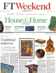 FT weekend House & Home 21 April