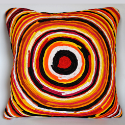16 x16 Kite multicolor cushion cover by Sahil & Sarthak