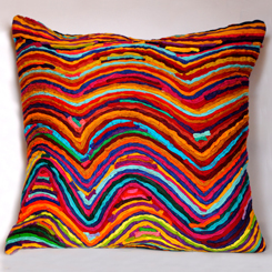 Katran Cushion Cover Wave