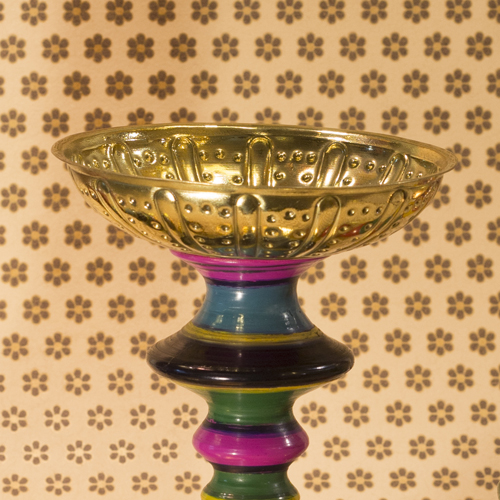 Lac Candle stand Small