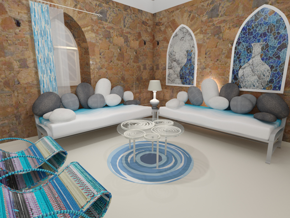 Water Room Designed by Sahil & Sarthak
