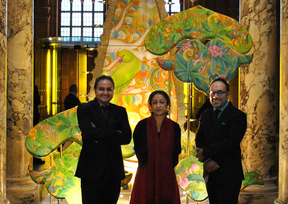 Designers with Divia Patel, Curator of the Asian Department, Victoria & Albert Museum