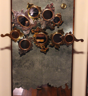 Aranmula Mirror Wall Art installation by sahil & Sarthak - Somany - Mango Tree