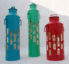 Milk can Outdoor Lamp Sahil & Sarthak