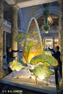 Kalpataru The Wishing Tree by Sarthak and Sahil at the V&A, 2015 (c) Victoria and Albert Museum, London